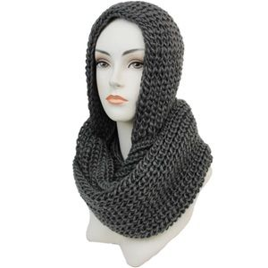 ✨Coming Soon✨ Gray Hooded Scarf